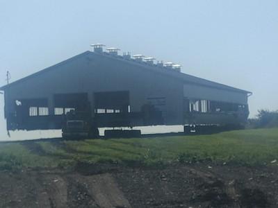 Déplacement d'un bâtiment agricole